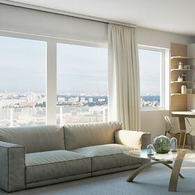 Living room RTX rendering