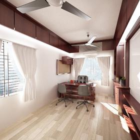 Office interior VR rendering