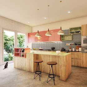 Kitchen architectural design