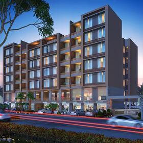Apartment building 3D architectural animation