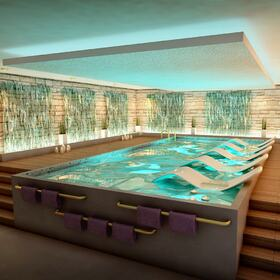 Swimming pool 3D architectural animation