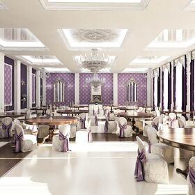 Wedding venue interior design