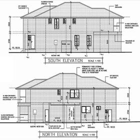 House architectural drawings