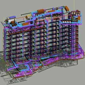Apartment building BIM