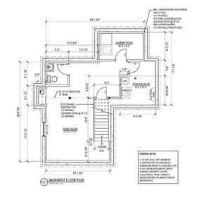 New basement contruction design