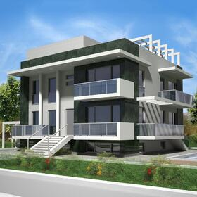 Residential house CAD design