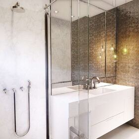 New house bathroom design