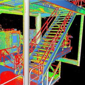 Structure point cloud modeling