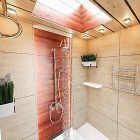 Bathroom interior redesign