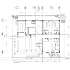 Hotel construction drawings