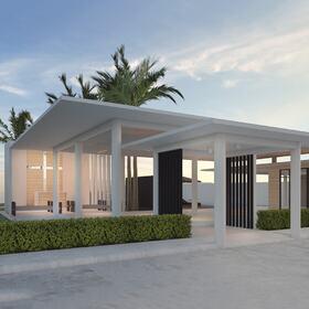 Residential block Revit design