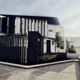 Residential house Revit design
