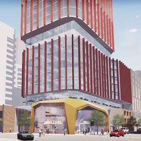 Commercial building Revit design