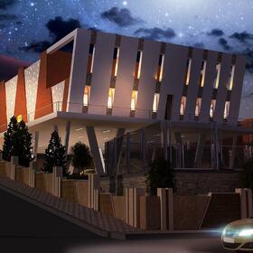 Apartment complex design