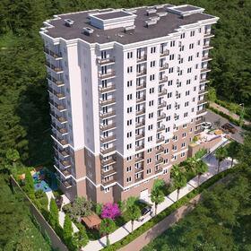 Apartment complex rendering