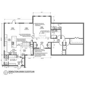 2D CAD floor plan drafting