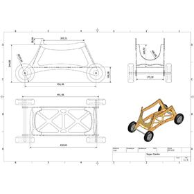 2D to 3D CAD of a trolley