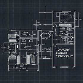 House AutoCAD conversion
