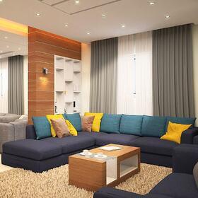 Private apartment AutoCAD