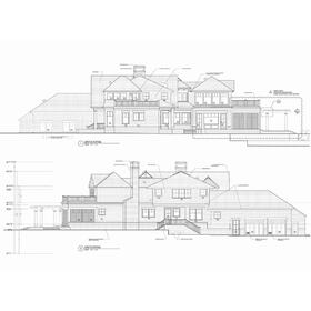 House AutoCAD drafting and design