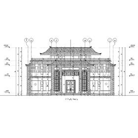 Blue bay mosque AutoCAD drafting and design