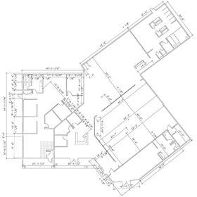 Restaurant AutoCAD drafting and design