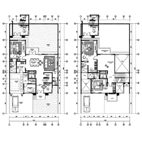 House AutoCAD drawing