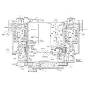 Building flor plan CAD design