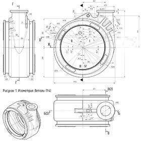 Spiral housing of centrifugal pump