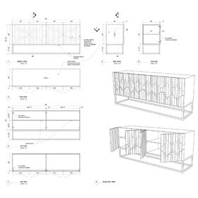 Furniture CAD design