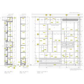 Panic room CAD drafting