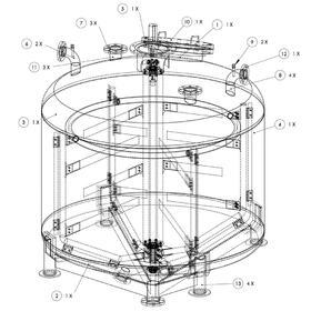 Tank CAD drafting