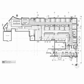 Architectural CAD drawing