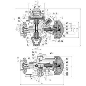 Breathing apparatus CAD drawing