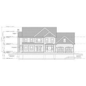 House CAD drawing