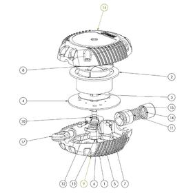 Casing assembly CAD drawing