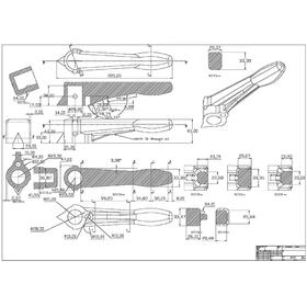 3-way valve handle