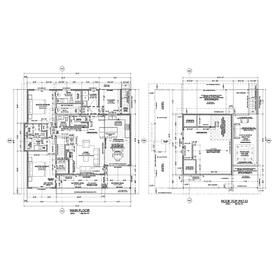 Residential CAD drawing