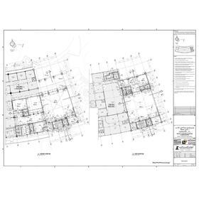 Topographic civil drawing