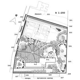 Primary school landscape design