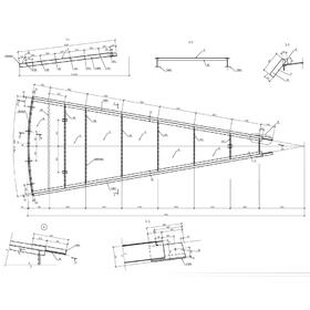 Spacer prefabricated roof panels
