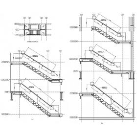 Handrail drawing