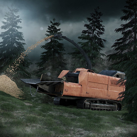 Forestry chipper