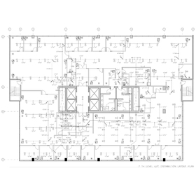 HVAC layout CAD design