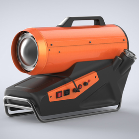 Diesel heater CAD design