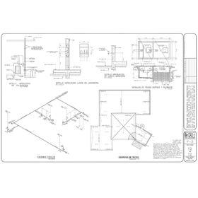 Reinforced concrete block house construction plans