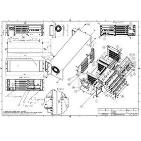 Sheet metal PCB board enclosure