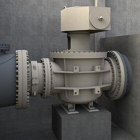 Conical plug valve