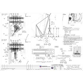 Construction engineering drawings