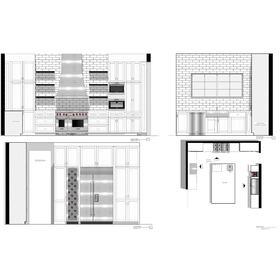 Kitchen remodel elevations